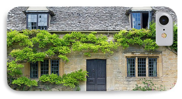 IPhone Case featuring the photograph Cotswolds Cottage Home II by Brian Jannsen