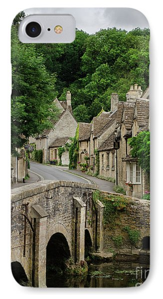 Cotswolds Village Castle Combe IPhone Case by IPics Photography