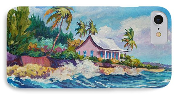 Cottage At Prospect Reef IPhone Case by John Clark