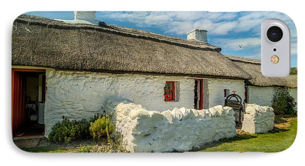 Cottage In Wales IPhone Case by Adrian Evans