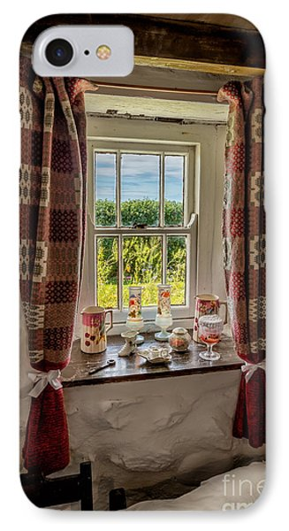 Cottage Pottery IPhone Case by Adrian Evans