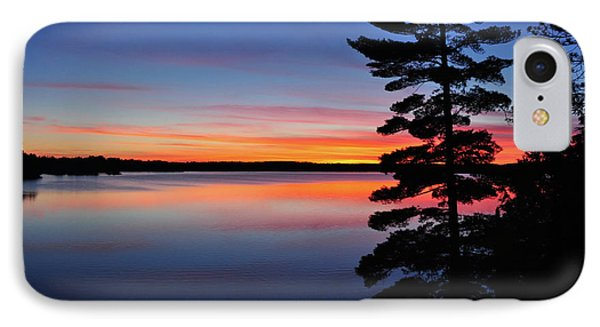 Cottage Sunset IPhone Case by Keith Armstrong