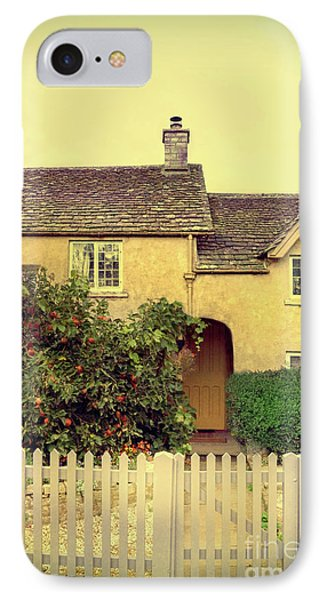 Cottage With A Picket Fence IPhone Case by Jill Battaglia