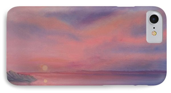 Cotton Candy Sky IPhone Case by Holly Martinson