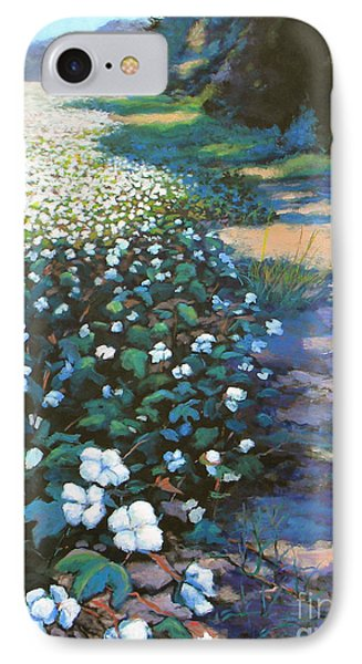 Cotton Field IPhone Case by Jeanette Jarmon
