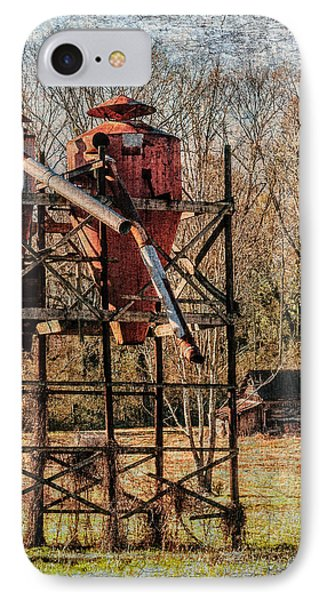Cotton Gin In Vincent Alabama Phone Case by Phillip Burrow