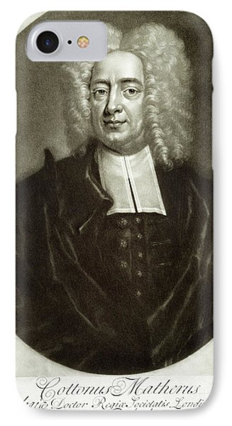 Cotton Mather 1663-1728 Phone Case by Granger