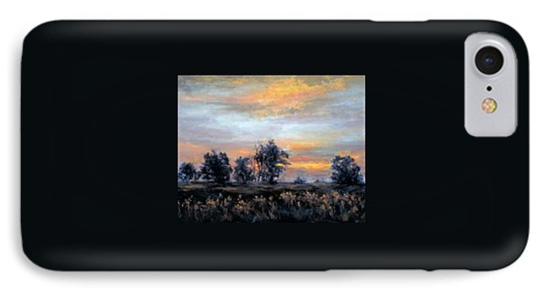 Cottonwoods At Sunset IPhone Case