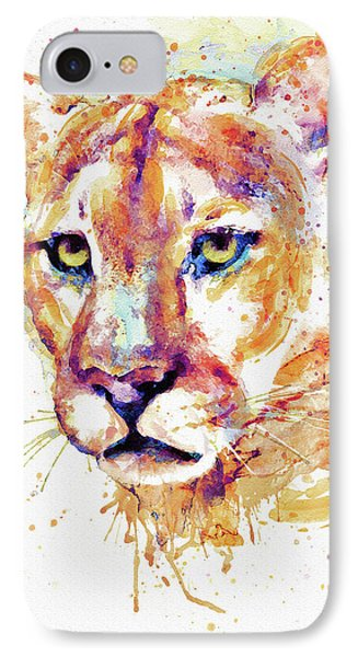Cougar Head IPhone Case