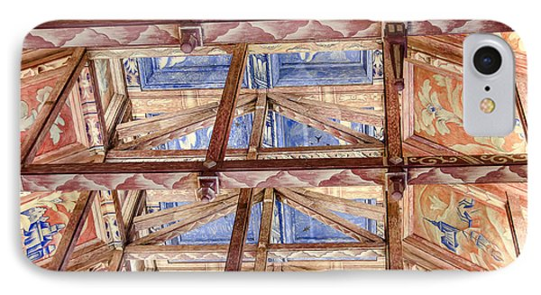 Council Chamber's Ceiling In The City Hall Of Stockholm IPhone Case by RicardMN Photography