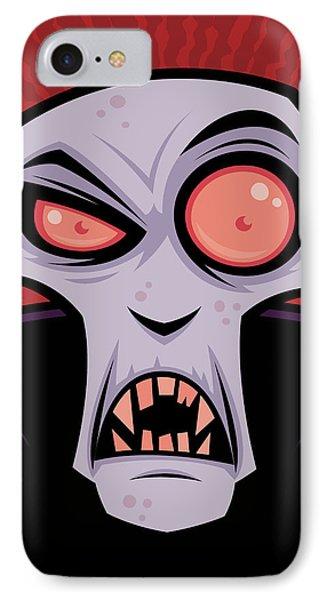 Count Dracula Phone Case by John Schwegel