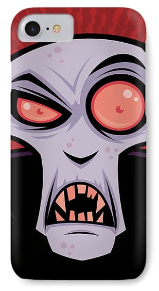 Count Dracula IPhone Case by John Schwegel