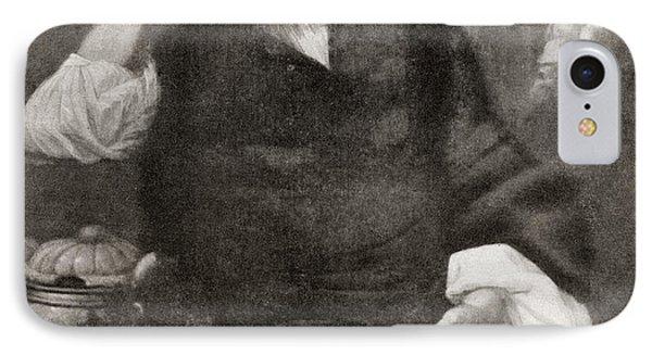 Count Erik J IPhone Case by Vintage Design Pics