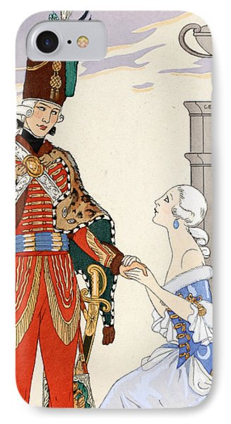 Count On My Oaths IPhone Case by Georges Barbier