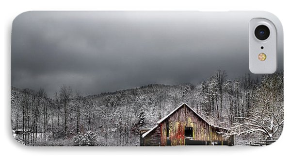 Country Barn In The Smokies IPhone Case by Mike Eingle