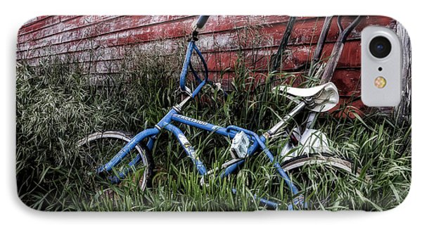 IPhone Case featuring the photograph Country Bicycle by Brad Allen Fine Art