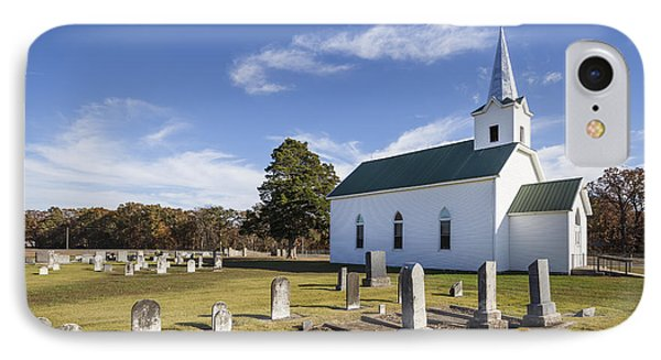 Country Church IPhone Case by Dennis Hedberg