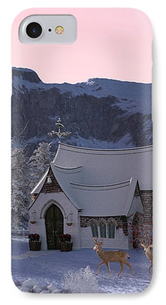 Country Church IPhone Case by Methune Hively