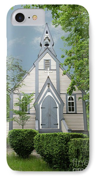 Country Church IPhone Case by Rod Wiens