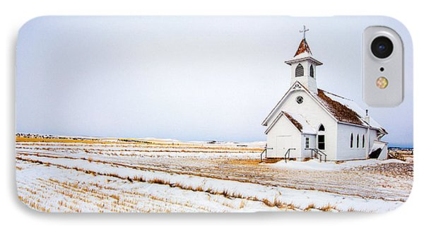 Country Church IPhone Case by Todd Klassy