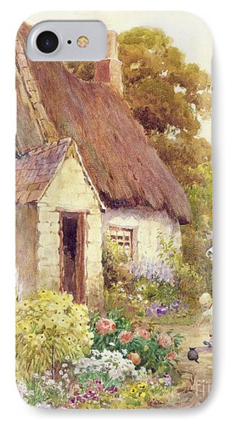 Country Cottage IPhone Case by Joshua Fisher