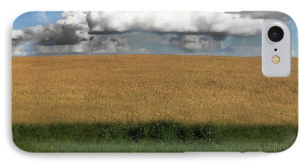 IPhone Case featuring the photograph Country Field by Brian Jones