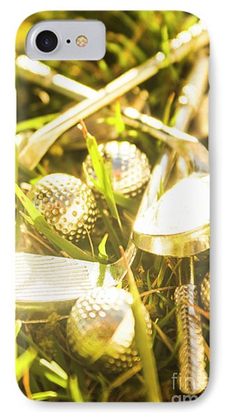 Country Golf IPhone Case