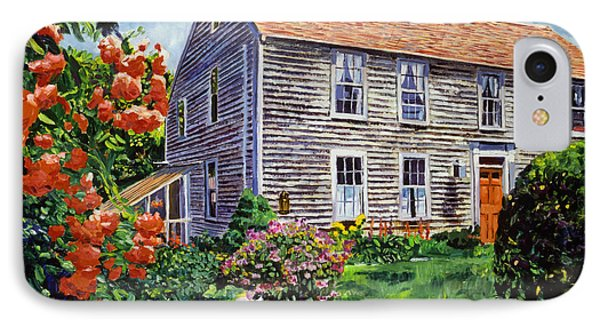 Country House Cape Cod IPhone Case by David Lloyd Glover