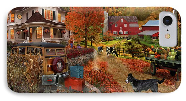 Country Inn And Farm IPhone Case