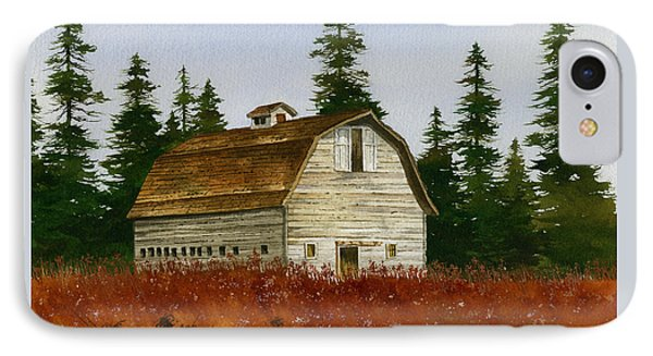 IPhone Case featuring the painting Country Landscape by James Williamson