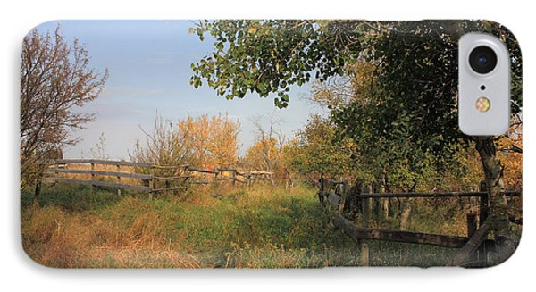 Country Lane Phone Case by Jim Sauchyn