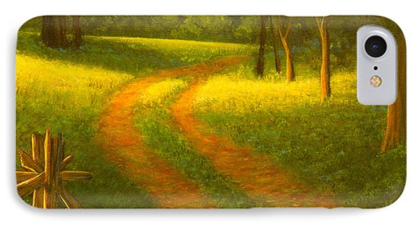 Country Lane IPhone Case