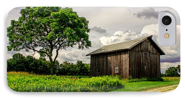 Country Life IPhone Case by Skip Tribby