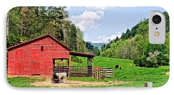 Country Life IPhone Case by Susan Leggett