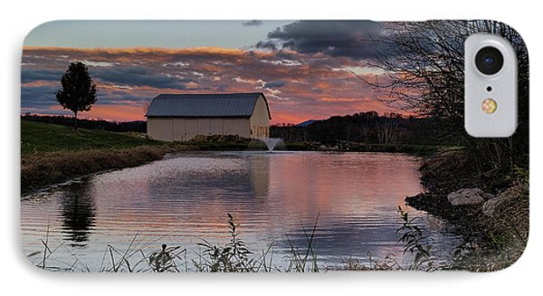 IPhone Case featuring the photograph Country Living Sunset by Lara Ellis