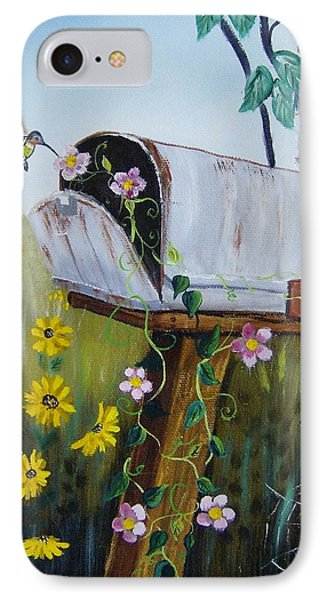 Country Mailbox IPhone Case