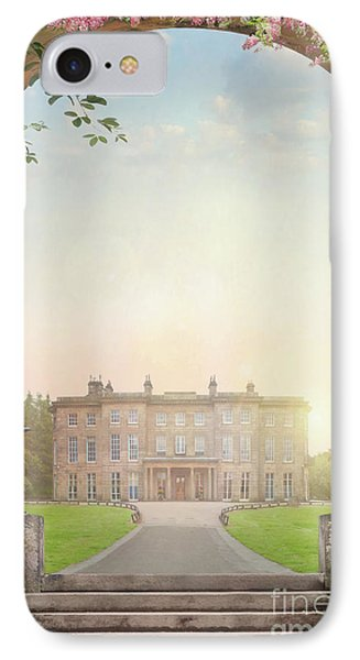 Country Mansion At Sunset IPhone Case