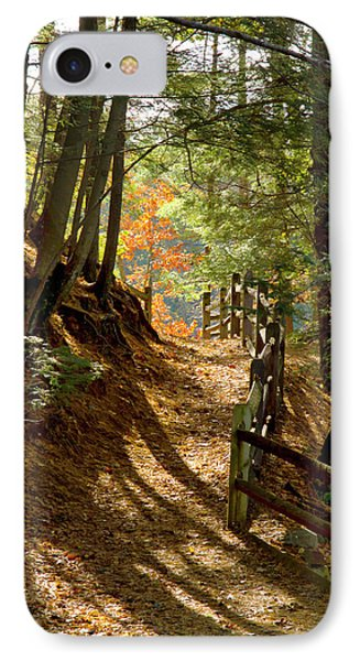 IPhone Case featuring the photograph Country Path by Arthur Dodd