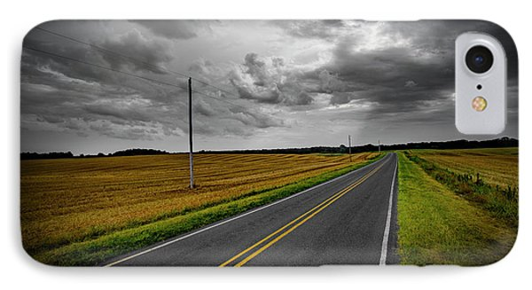 IPhone Case featuring the photograph Country Road by Brian Jones