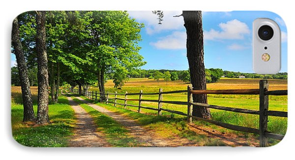 Country Road Phone Case by Catherine Reusch Daley