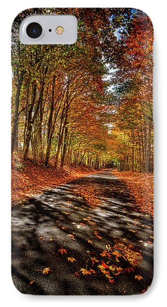 Country Road IPhone Case by Mark Allen