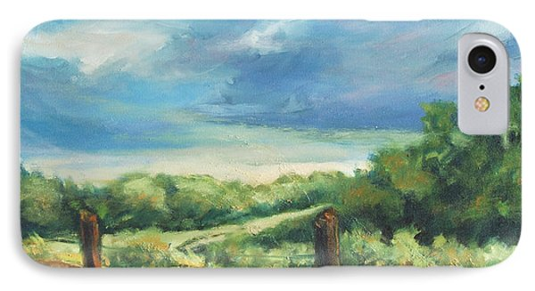 Country Road IPhone Case by Rick Nederlof