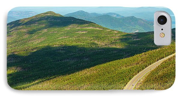 IPhone Case featuring the photograph Country Road To My Home Whiteface Mountain New York by Paul Ge