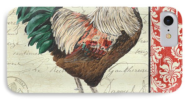 Country Rooster 1 IPhone 7 Case by Debbie DeWitt
