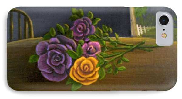 Country Roses IPhone Case by Sheri Keith