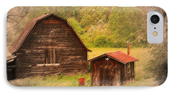 Country Shack Phone Case by Itai Minovitz