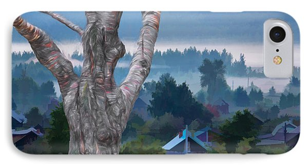 Country Side Morning Mist IPhone Case