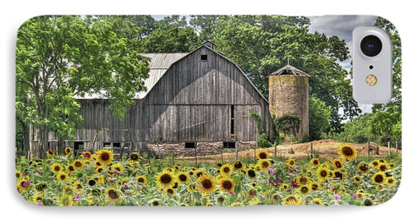Country Sunflowers Phone Case by Lori Deiter