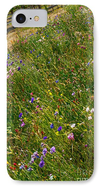 Country Wildflowers I   IPhone Case by Shari Warren
