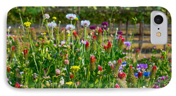 Country Wildflowers II IPhone Case by Shari Warren